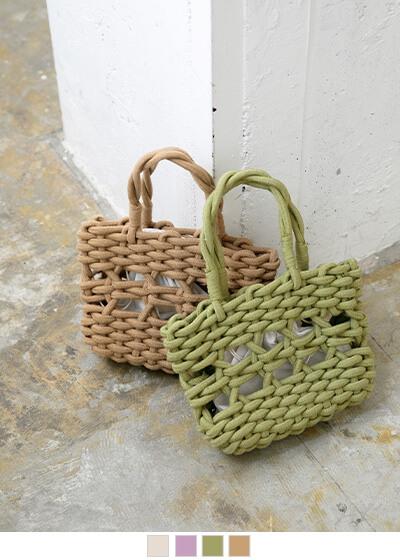 ロープカラートートバッグ