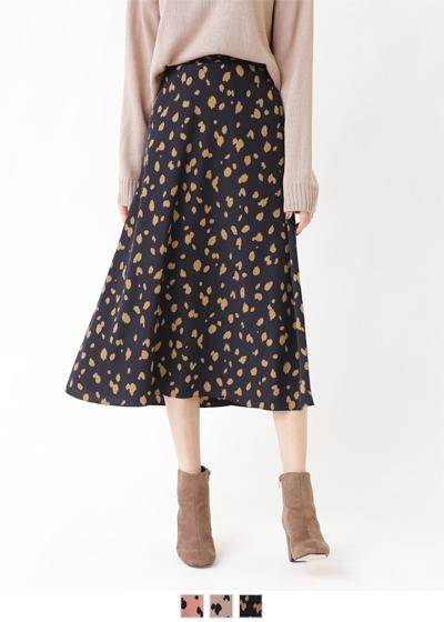 ダルメシアンプリントスカート【メール便可/90】