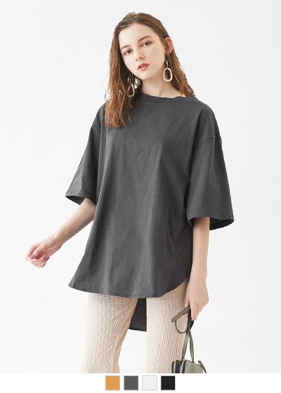 オーバーサイズTシャツ【メール便可/80】〔人気商品!予約〕