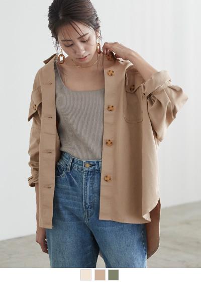 オーバーサイズシャツ/ジャケット