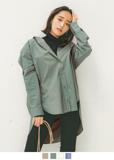 2wayデザインオーバーシャツ【メール便可/100】〔人気商品!予約〕